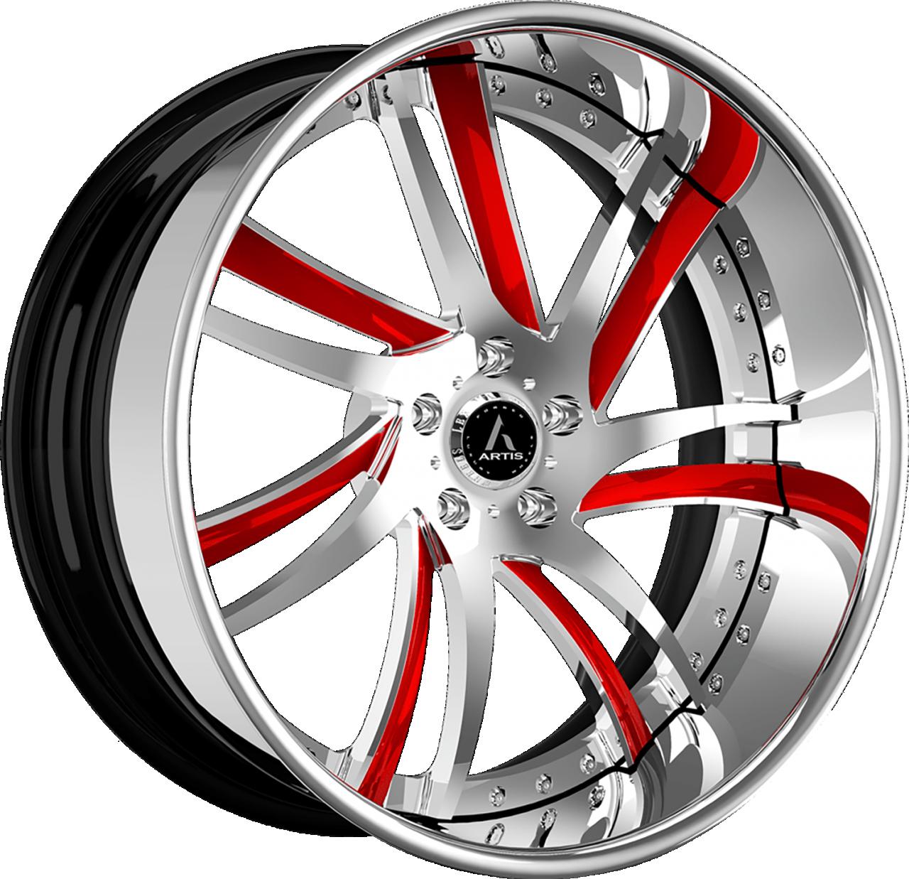 Artis Forged Profile wheel with Custom finish