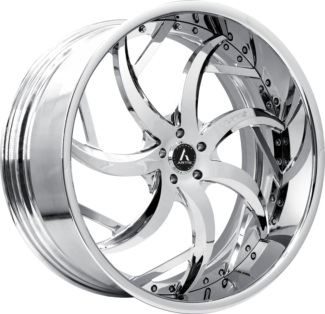 Artis Forged Sin City wheel with Chrome finish