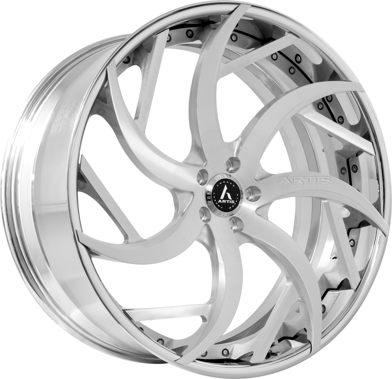 Artis Forged Sin City wheel with Brushed finish