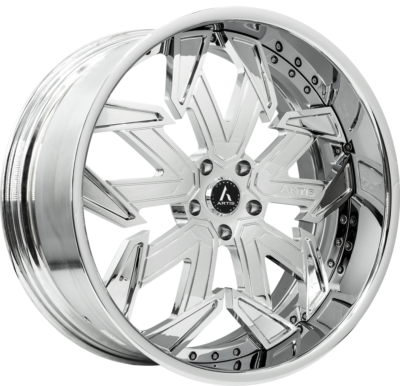 Artis Forged Lafayette wheel with Chrome finish
