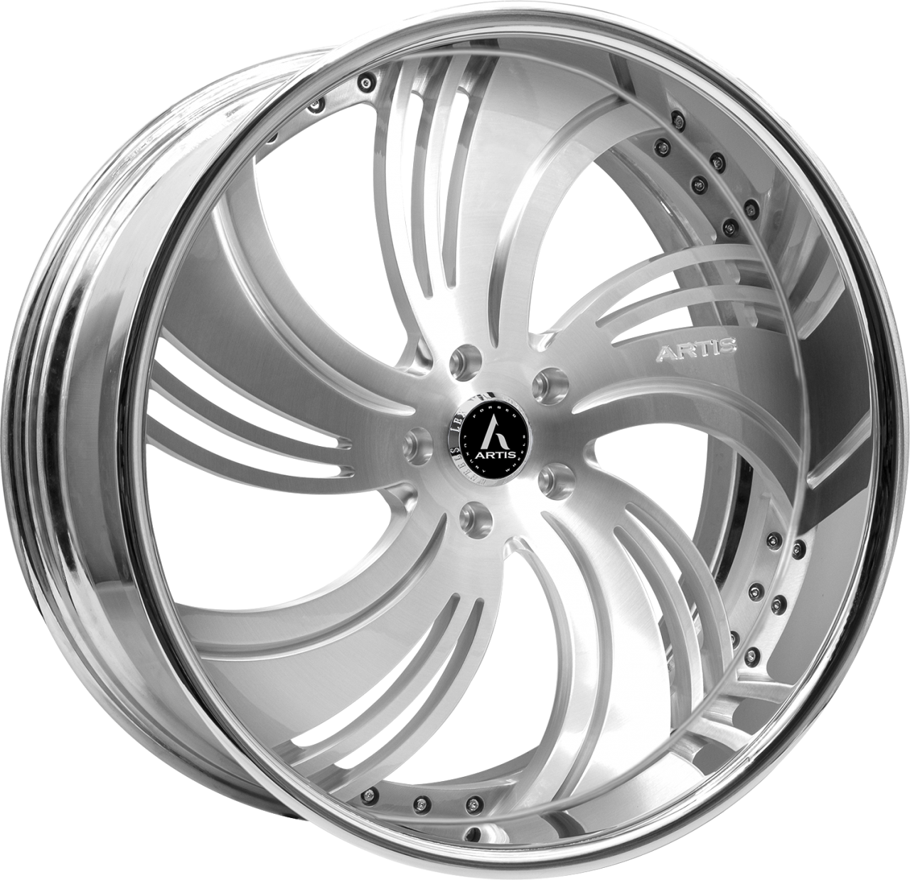 Artis Forged Avenue-M wheel with Brushed finish