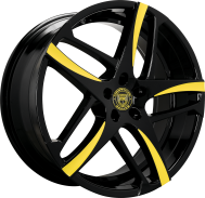 Custom - Black with Yellow Accents