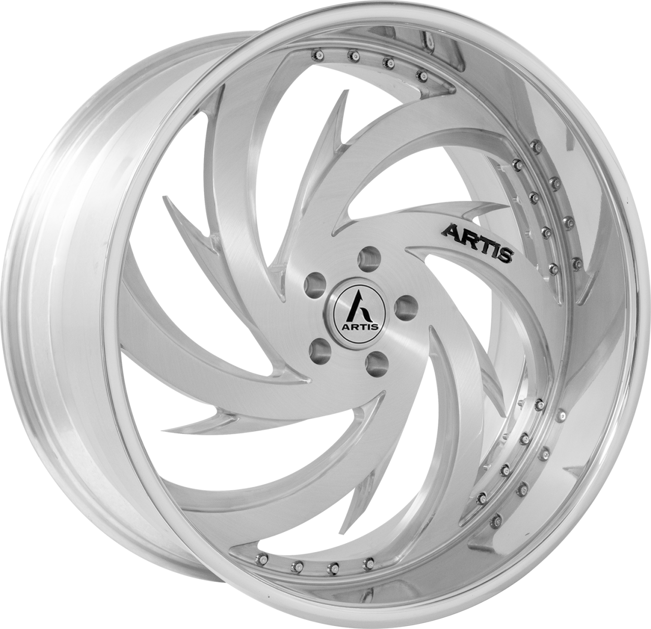Artis Forged Spada-M wheel with Brushed finish