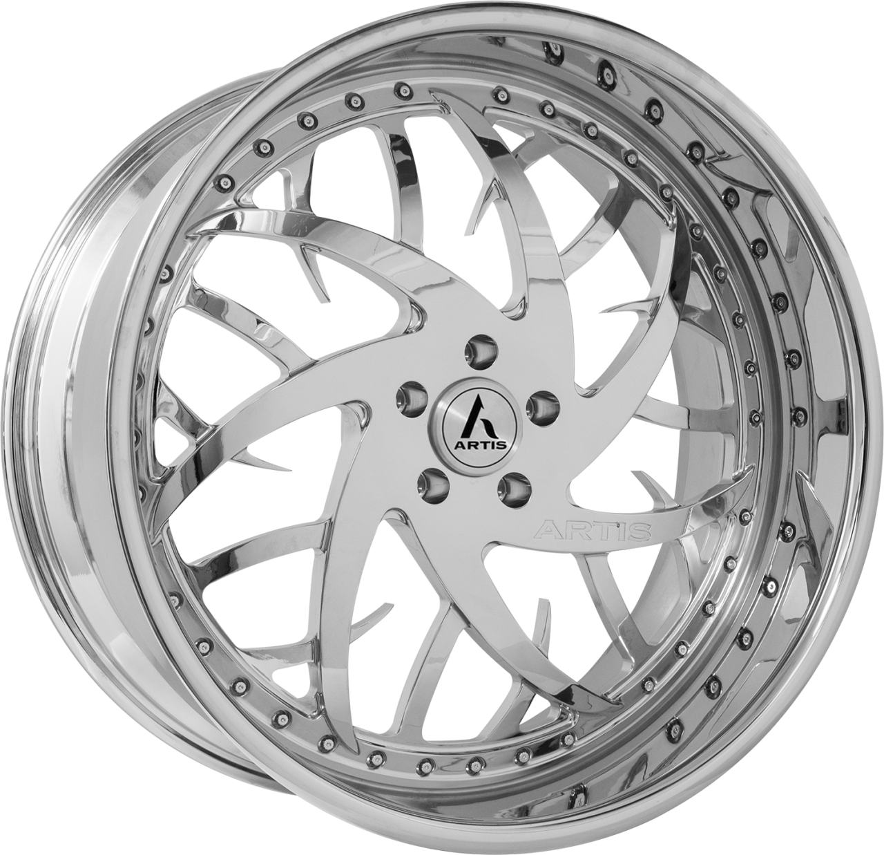 Artis Forged Harlem-M wheel with Chrome finish
