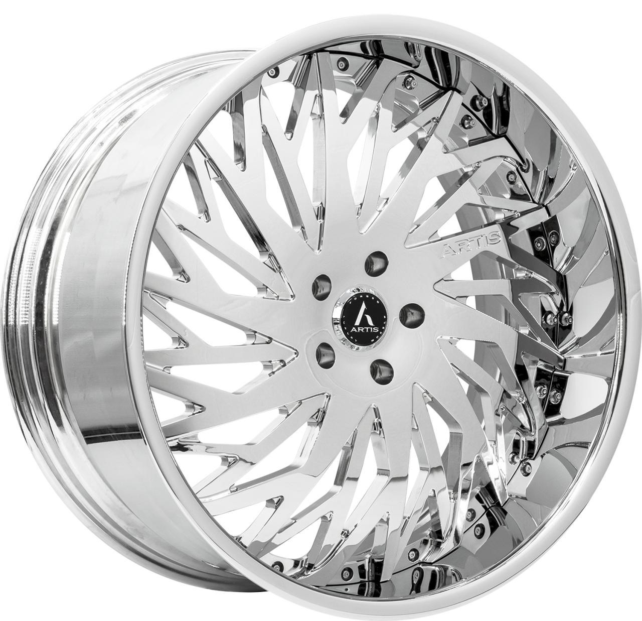 Artis Forged Northtown wheel with Chrome finish