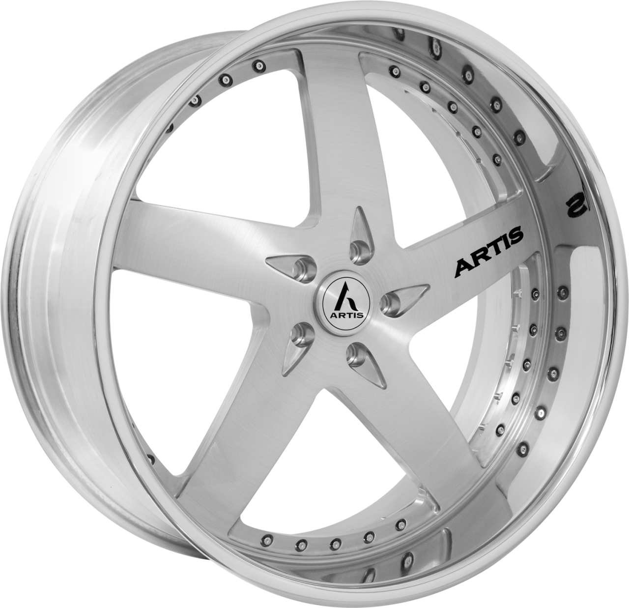 Artis Forged Bullet-M wheel with Brushed finish