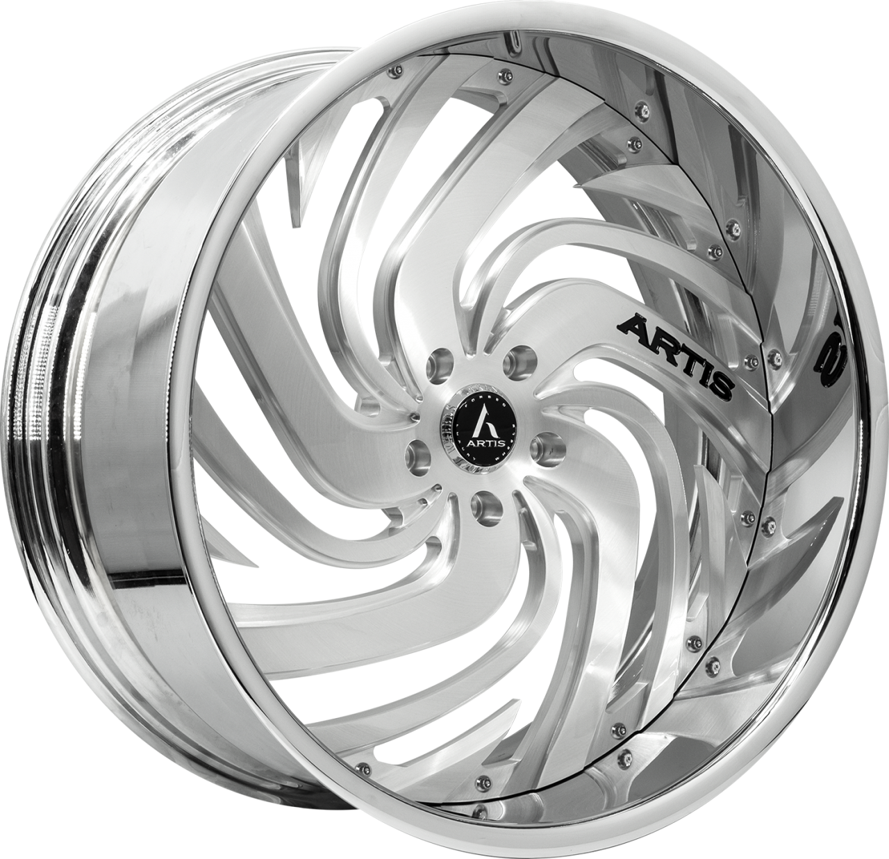 Artis Forged Fillmore wheel with Brushed finish