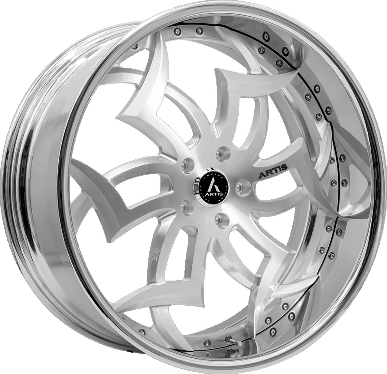 Artis Forged Medusa wheel with Brushed finish