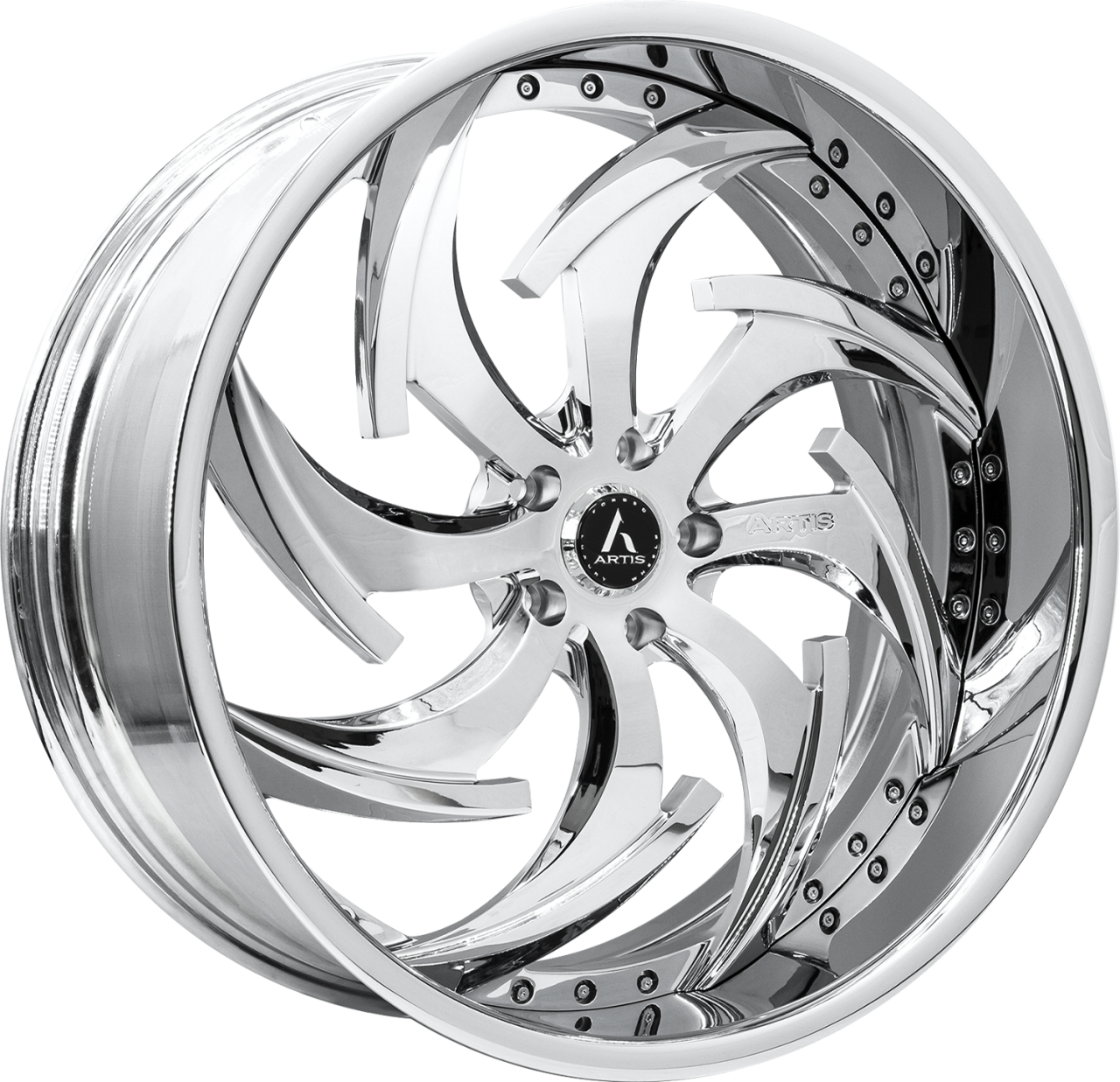 Artis Forged Dagger wheel with Chrome finish