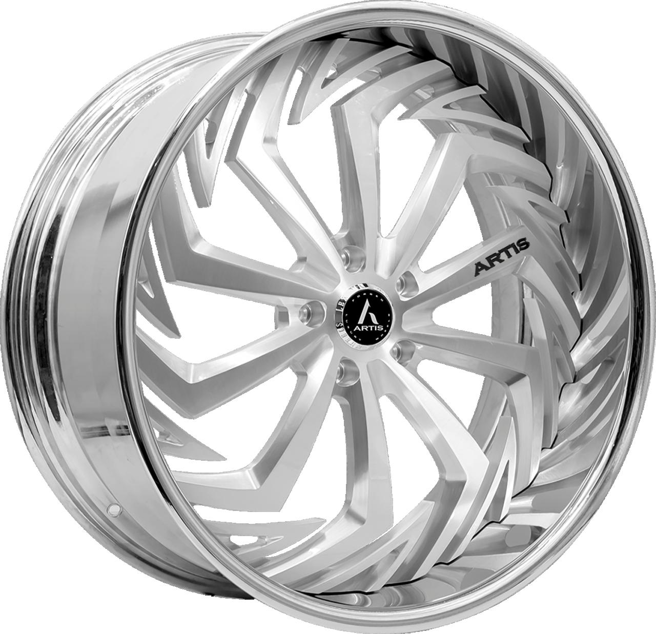 Artis Forged Royal wheel with Brushed finish