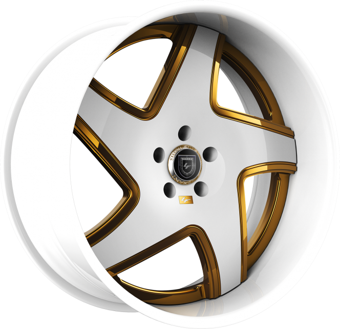 Custom - White and Gold