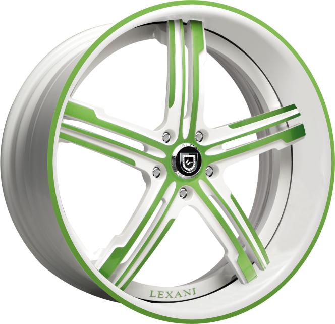 Custom - green and white finish.