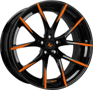 Optional Gloss black with orange tips.