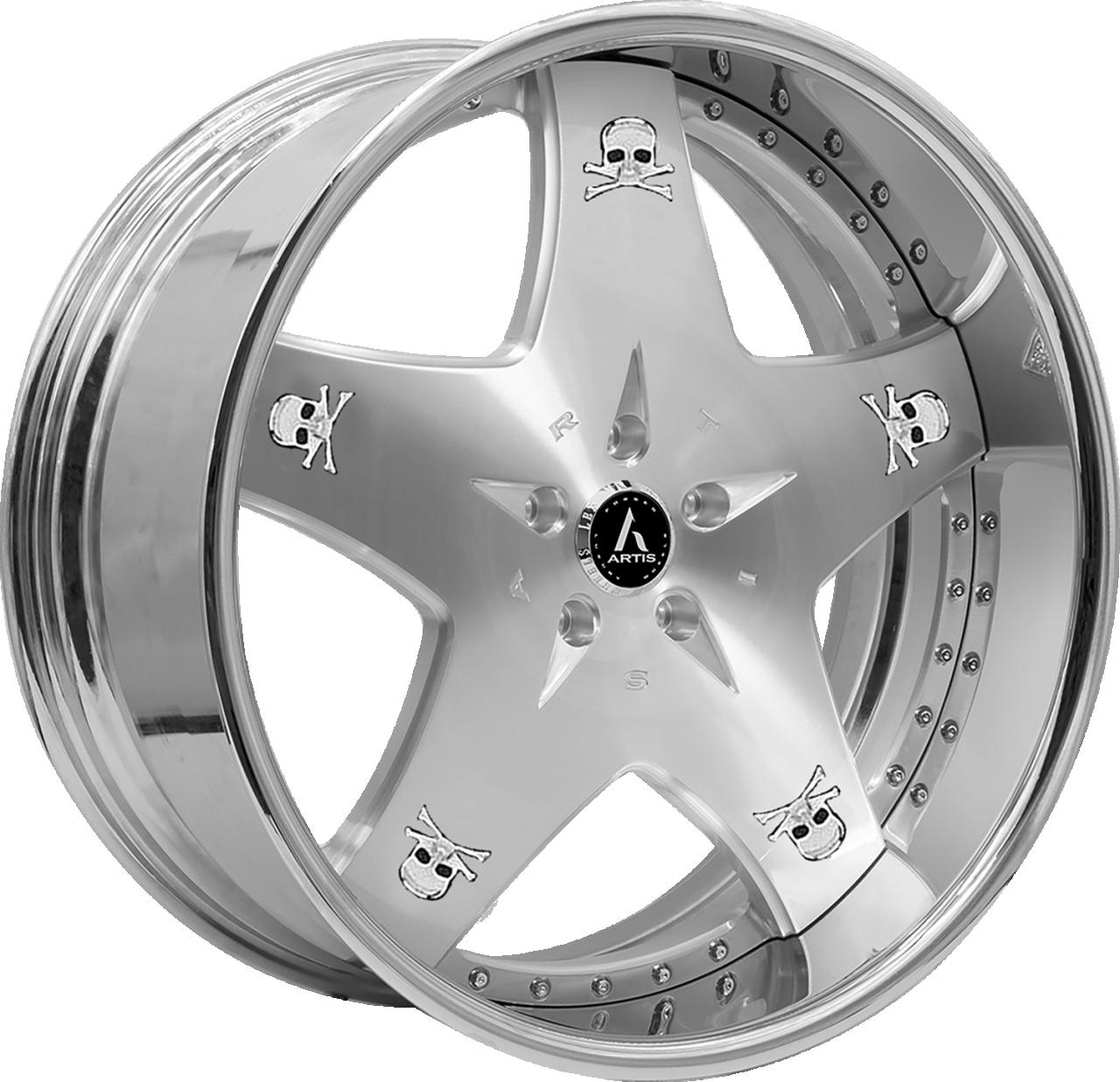 Artis Forged Cashville wheel with Brushed finish