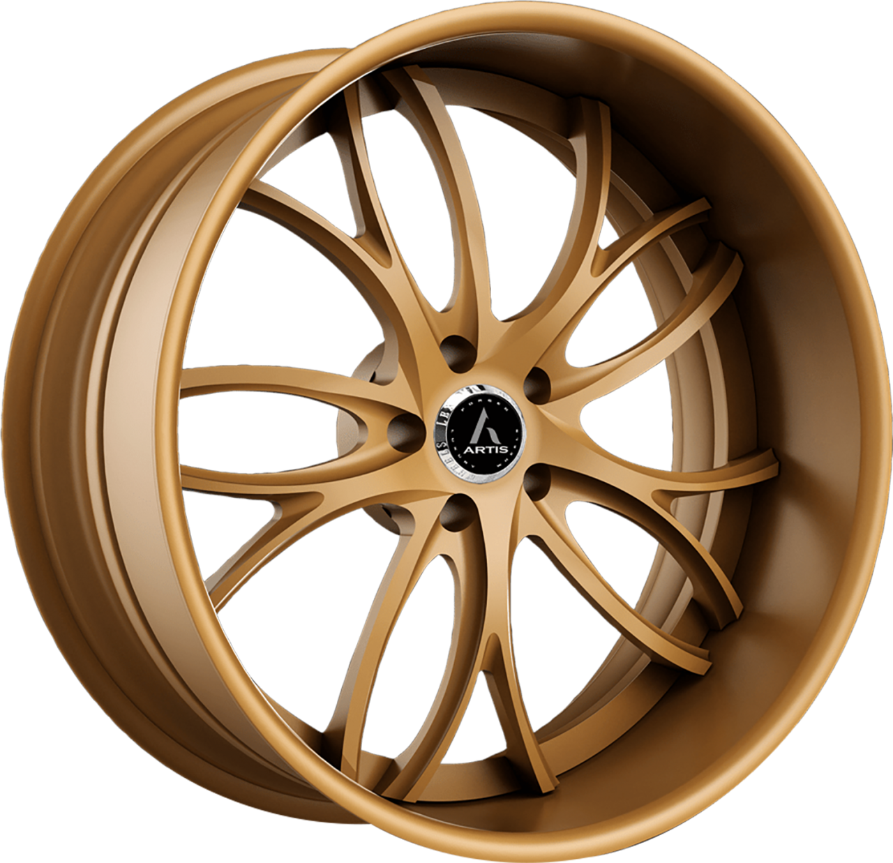 Artis Forged Biscayne wheel with Custom Bronze finish