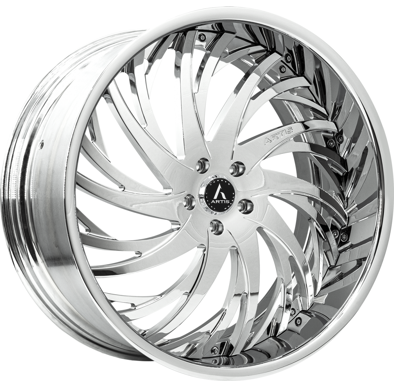 Artis Forged Decatur wheel with Chrome finish