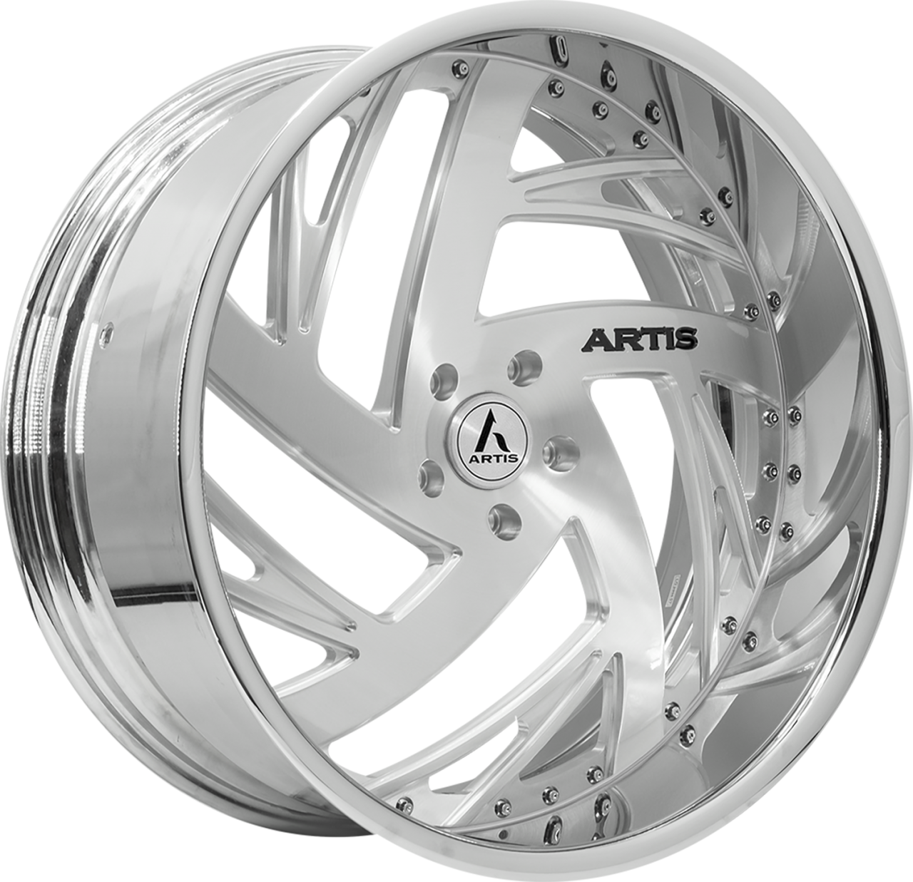 Artis Forged Southside-M wheel with Brushed finish
