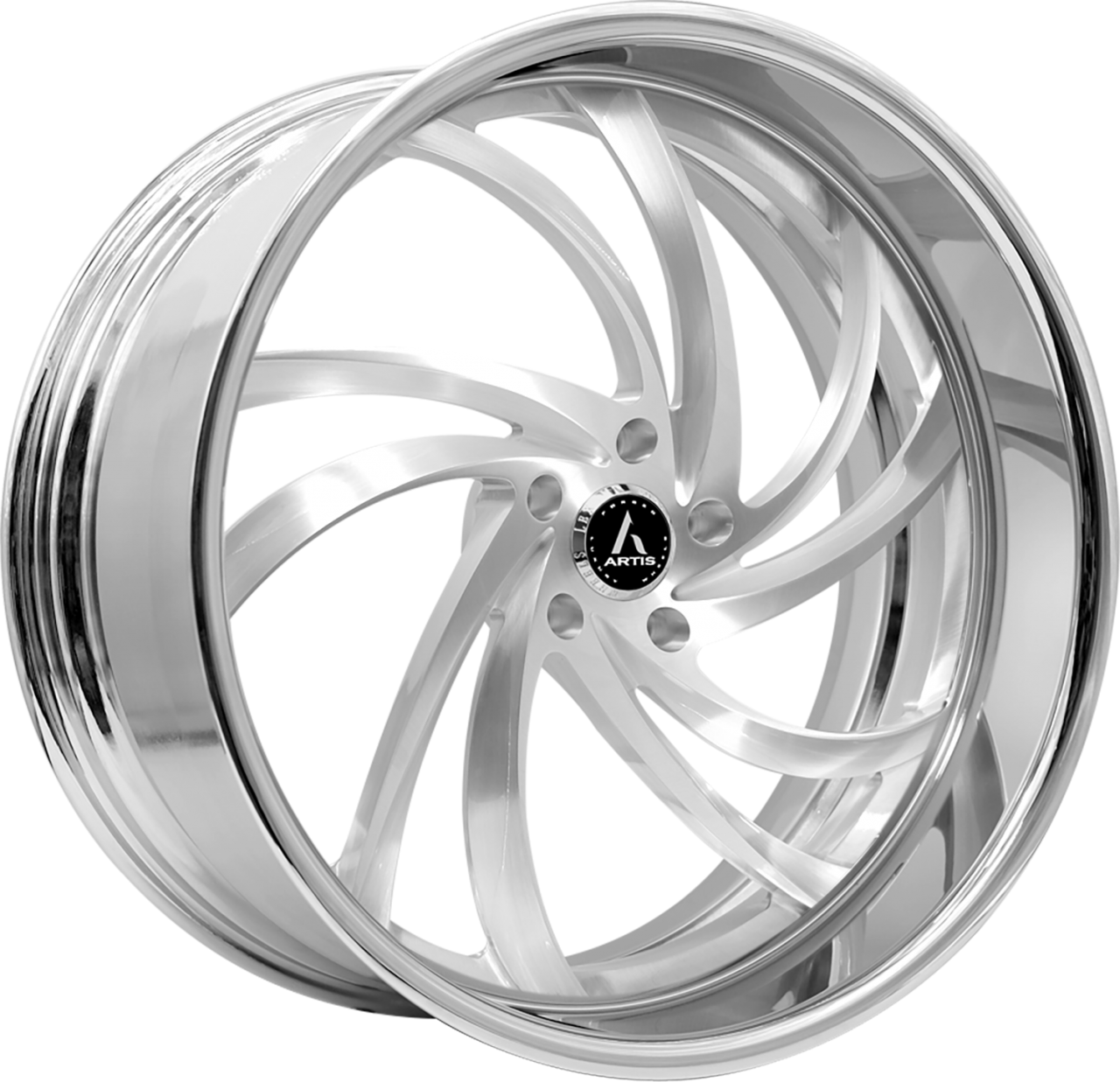 Artis Forged Twister-M wheel with Brushed finish