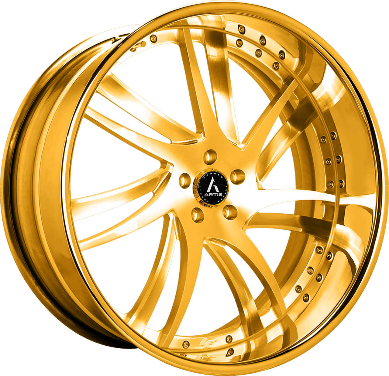 Artis Forged Profile-M wheel with Gold finish