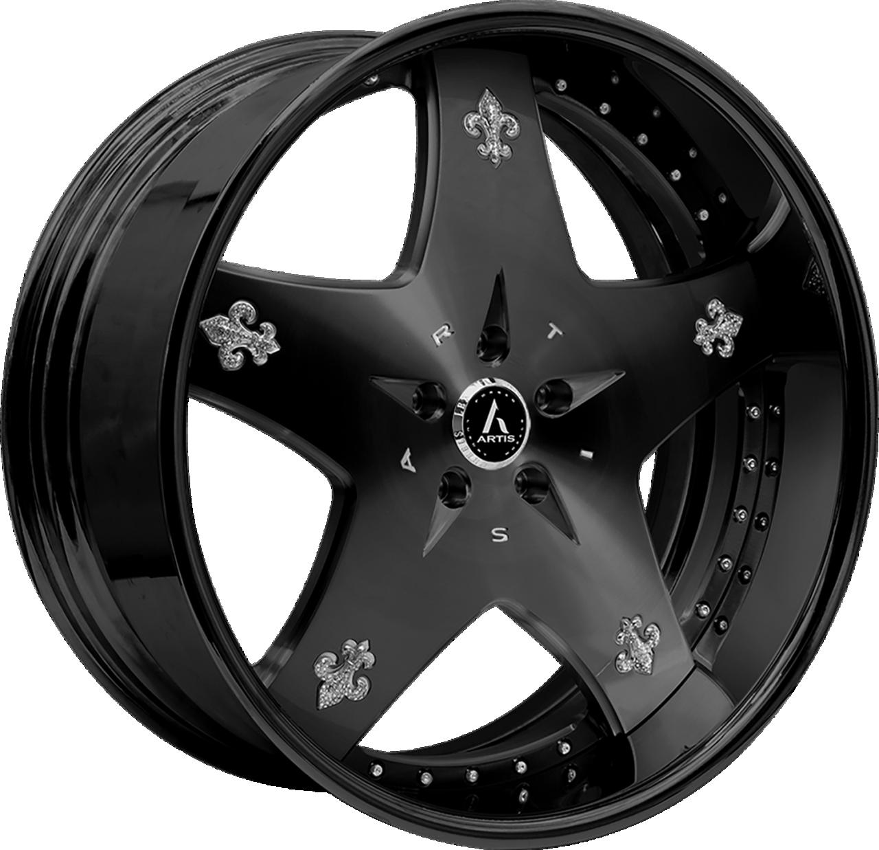 Artis Forged Cashville wheel with Custom Satin Black finish