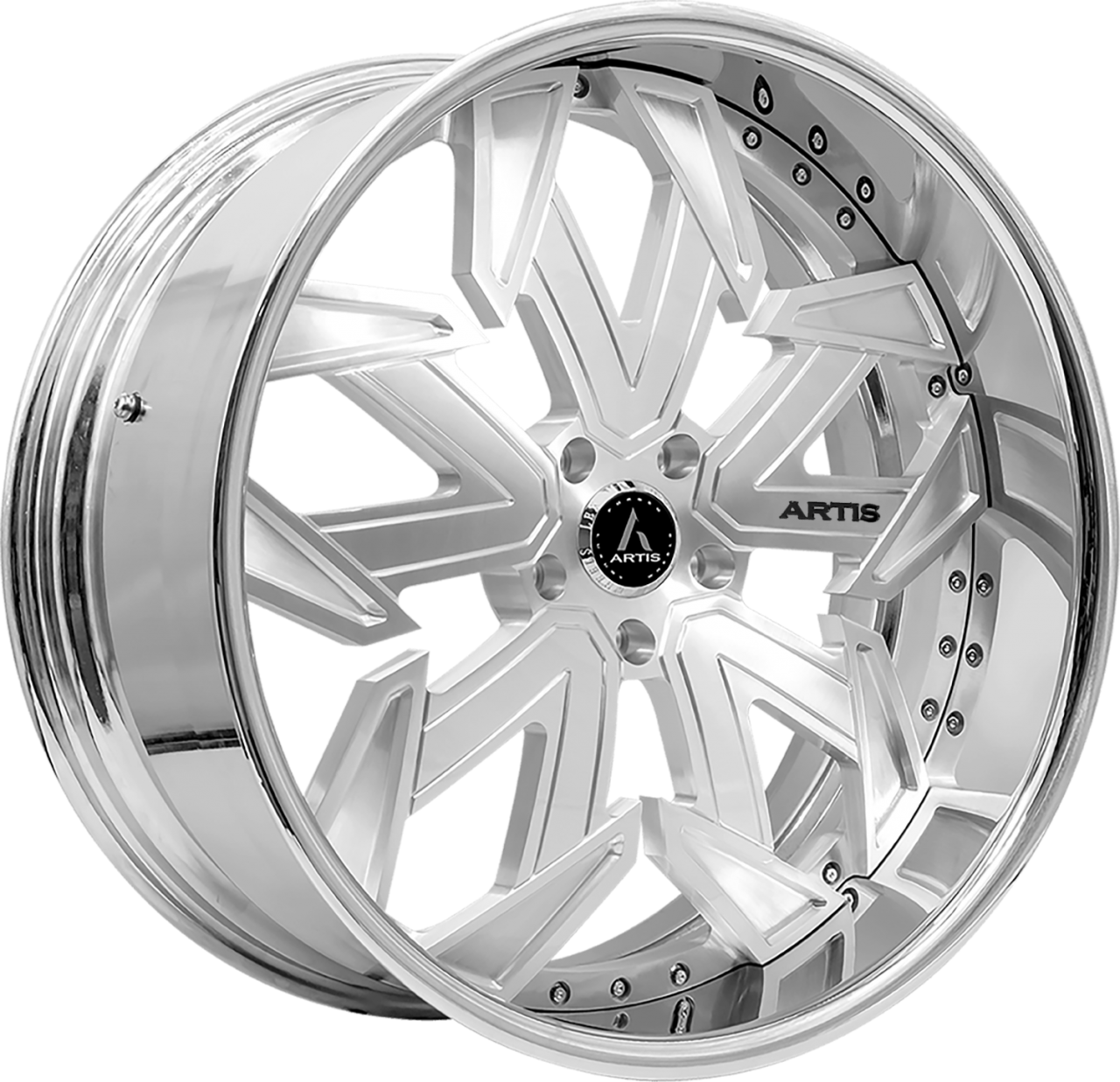 Artis Forged Lafayette wheel with Brushed finish