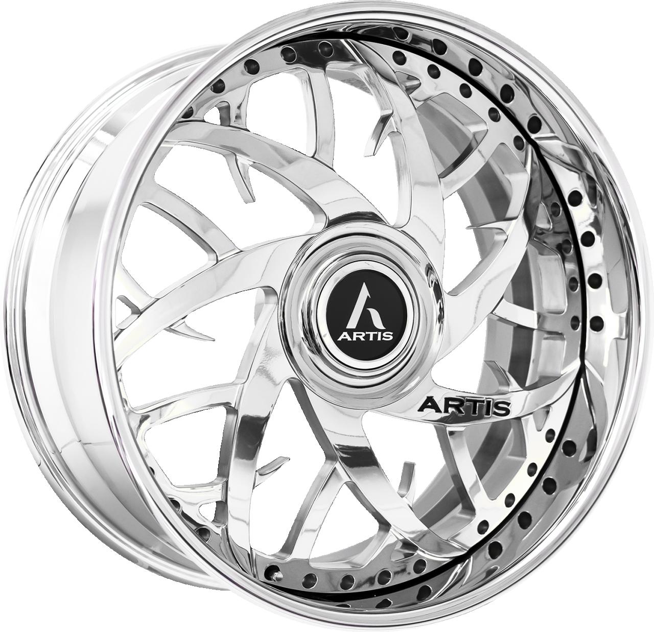 Artis Forged Harlem wheel with Chrome finish