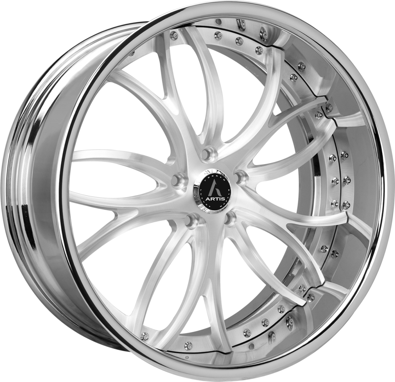 Artis Forged Biscayne wheel with Brushed finish