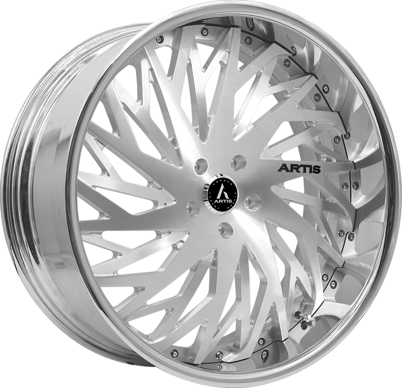 Artis Forged Northtown wheel with Brushed finish