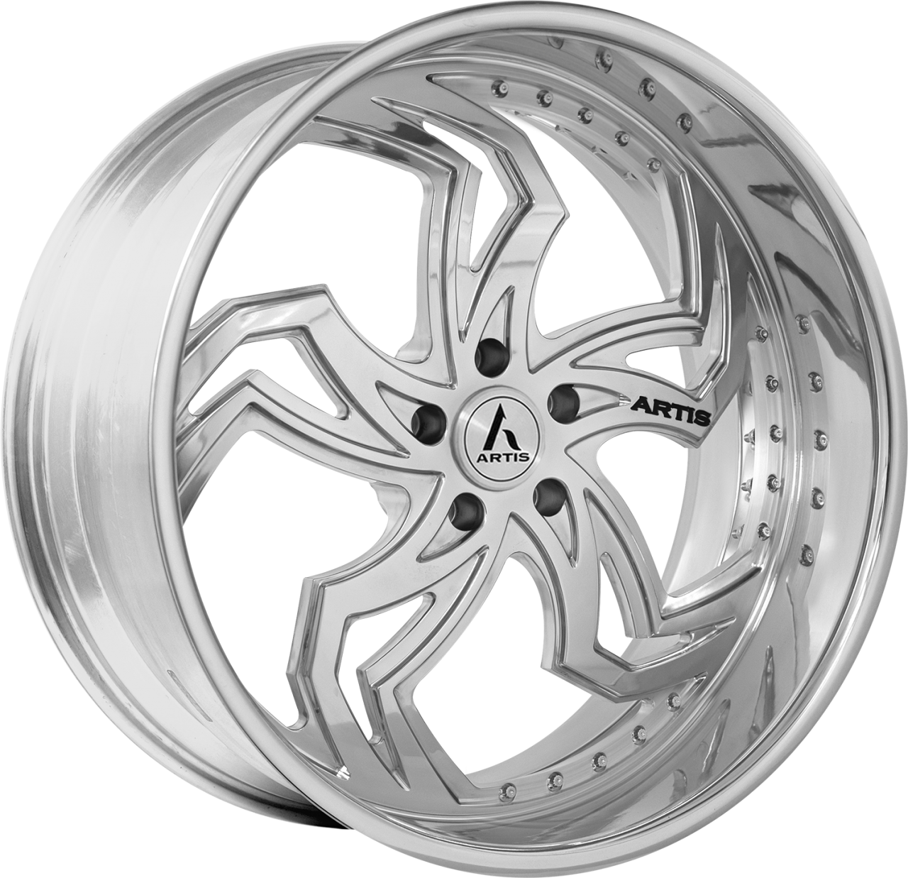 Artis Forged Fulton-M wheel with Brushed finish