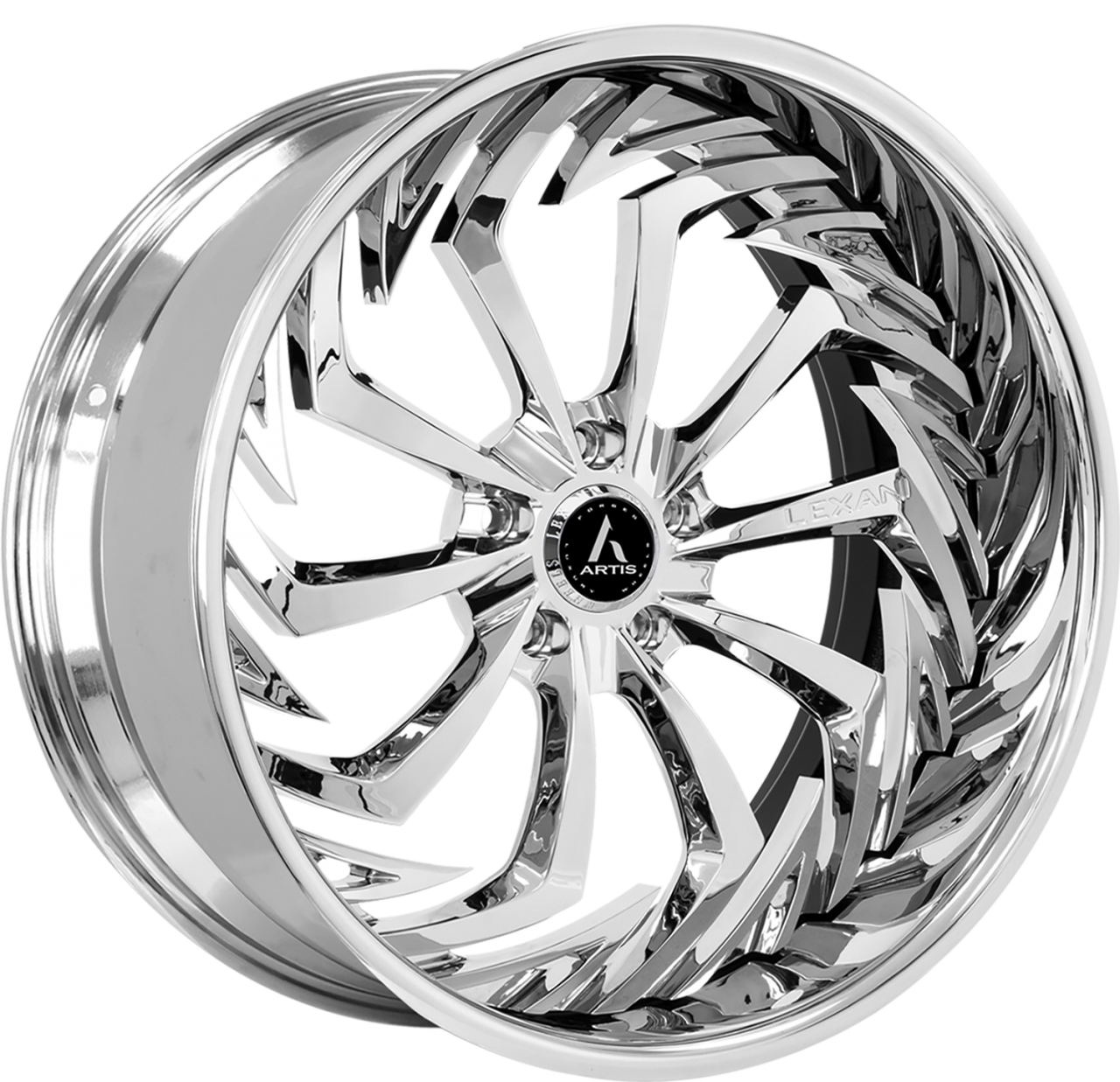 Artis Forged Royal wheel with Chrome finish