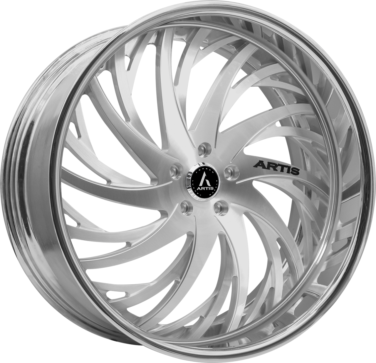 Artis Forged Decatur-M wheel with Brushed finish