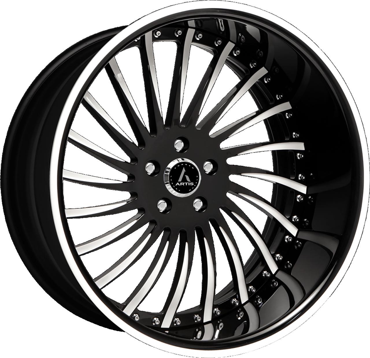 Artis Forged International wheel with Custom finish