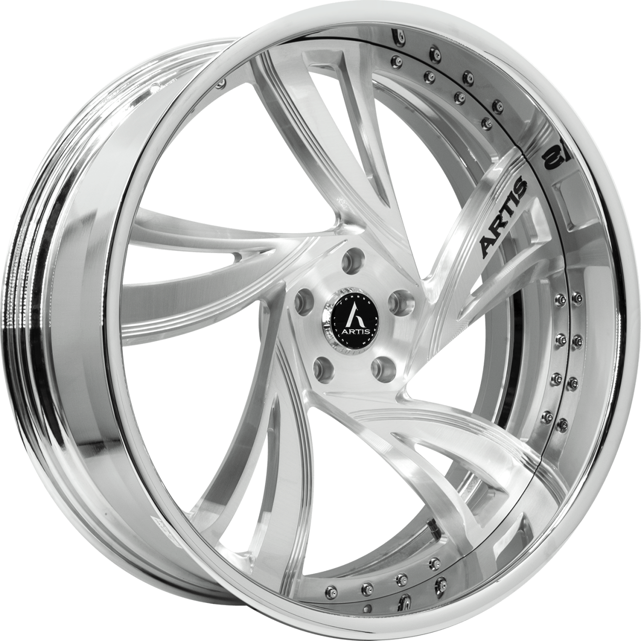 Artis Forged Kingston-M wheel with Brushed finish