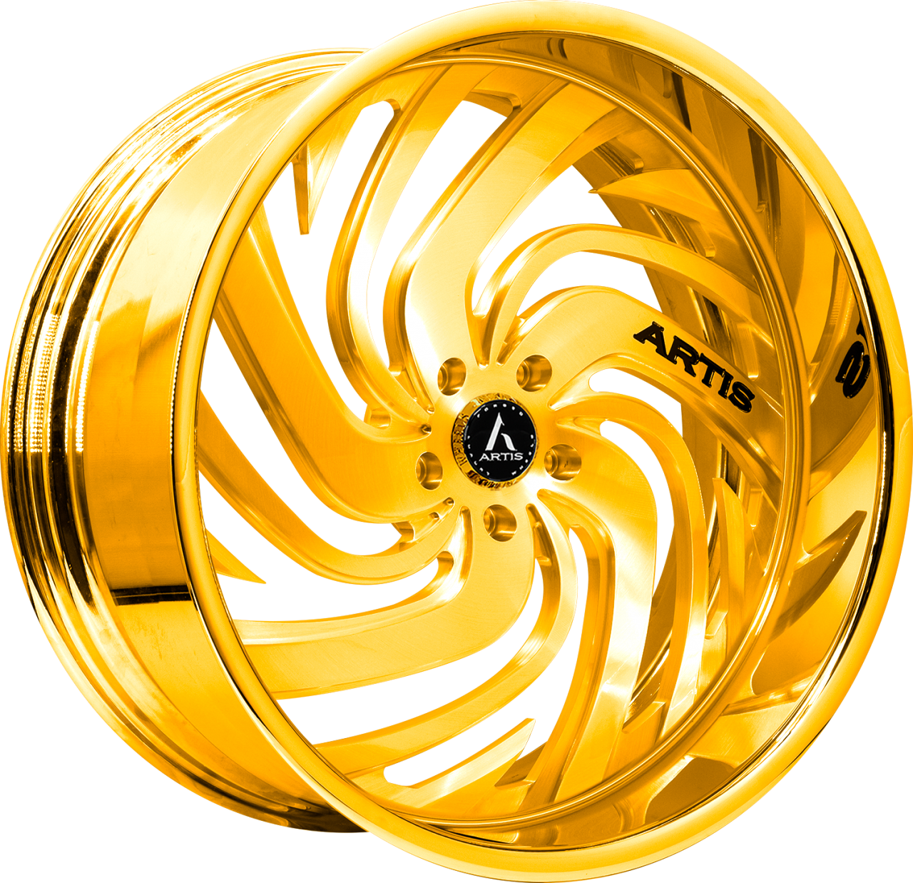 Artis Forged Fillmore-M wheel with Gold finish
