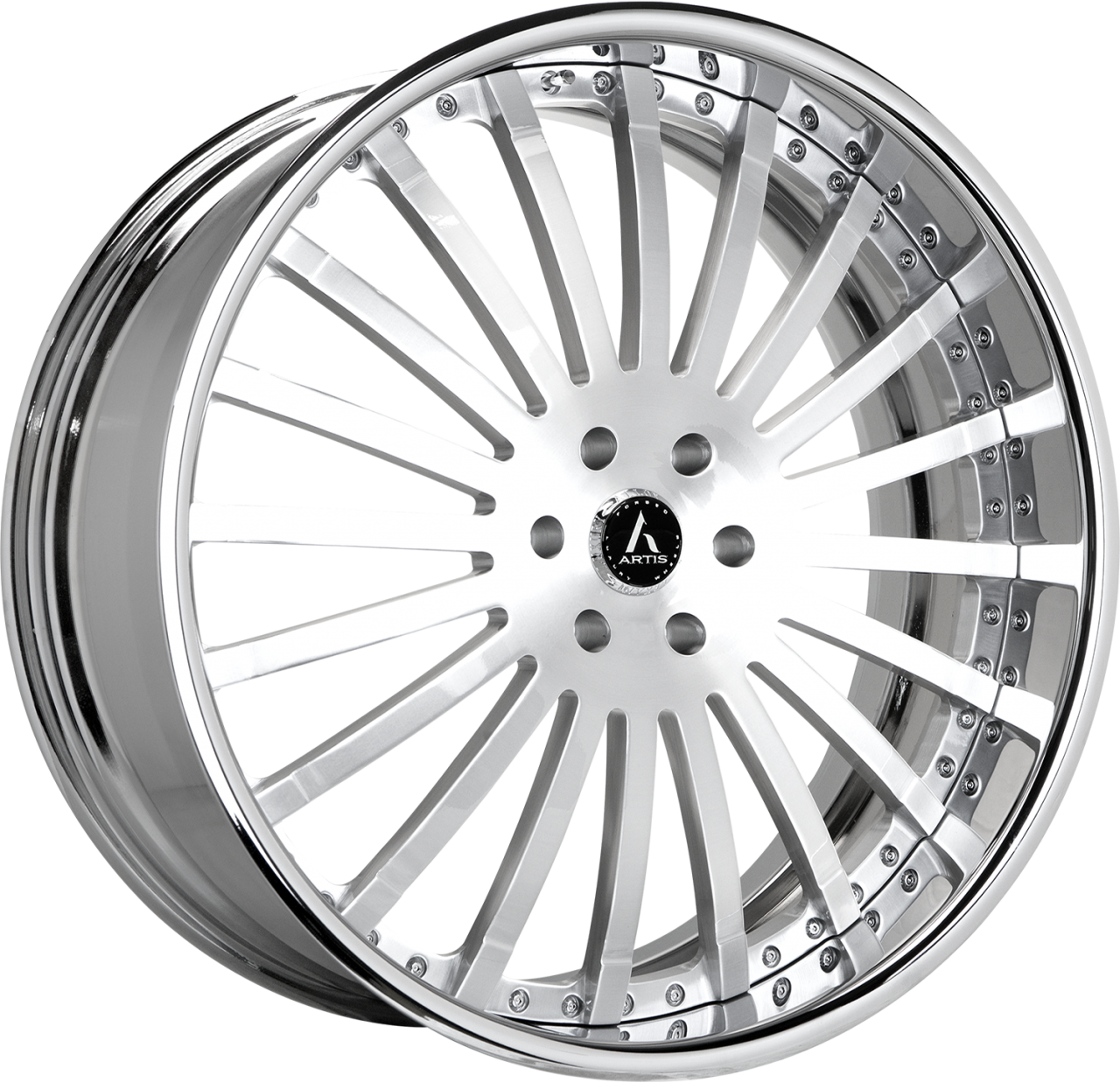 Artis Forged Coronado wheel with Brushed finish
