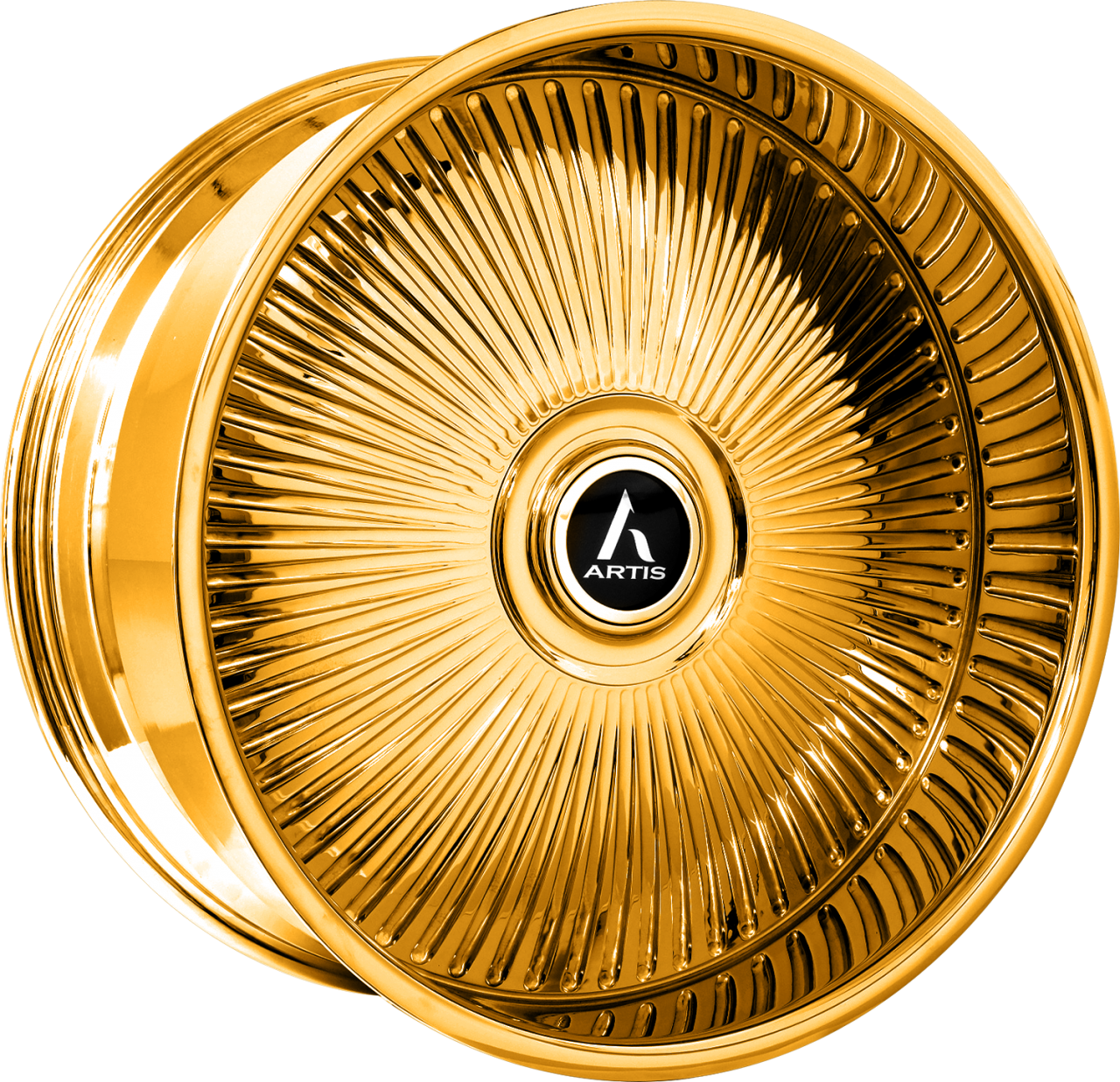Artis Forged Reno-M wheel with Gold finish