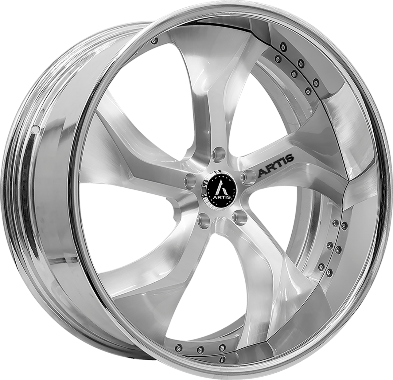 Artis Forged Bully wheel with Brushed finish