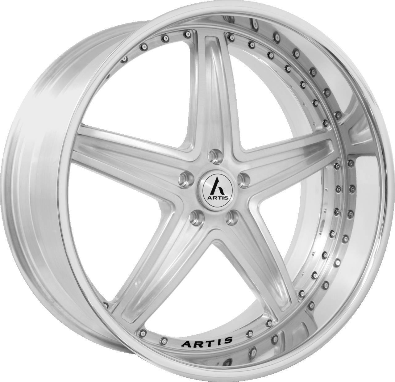 Artis Forged Bayou-M wheel with Brushed finish