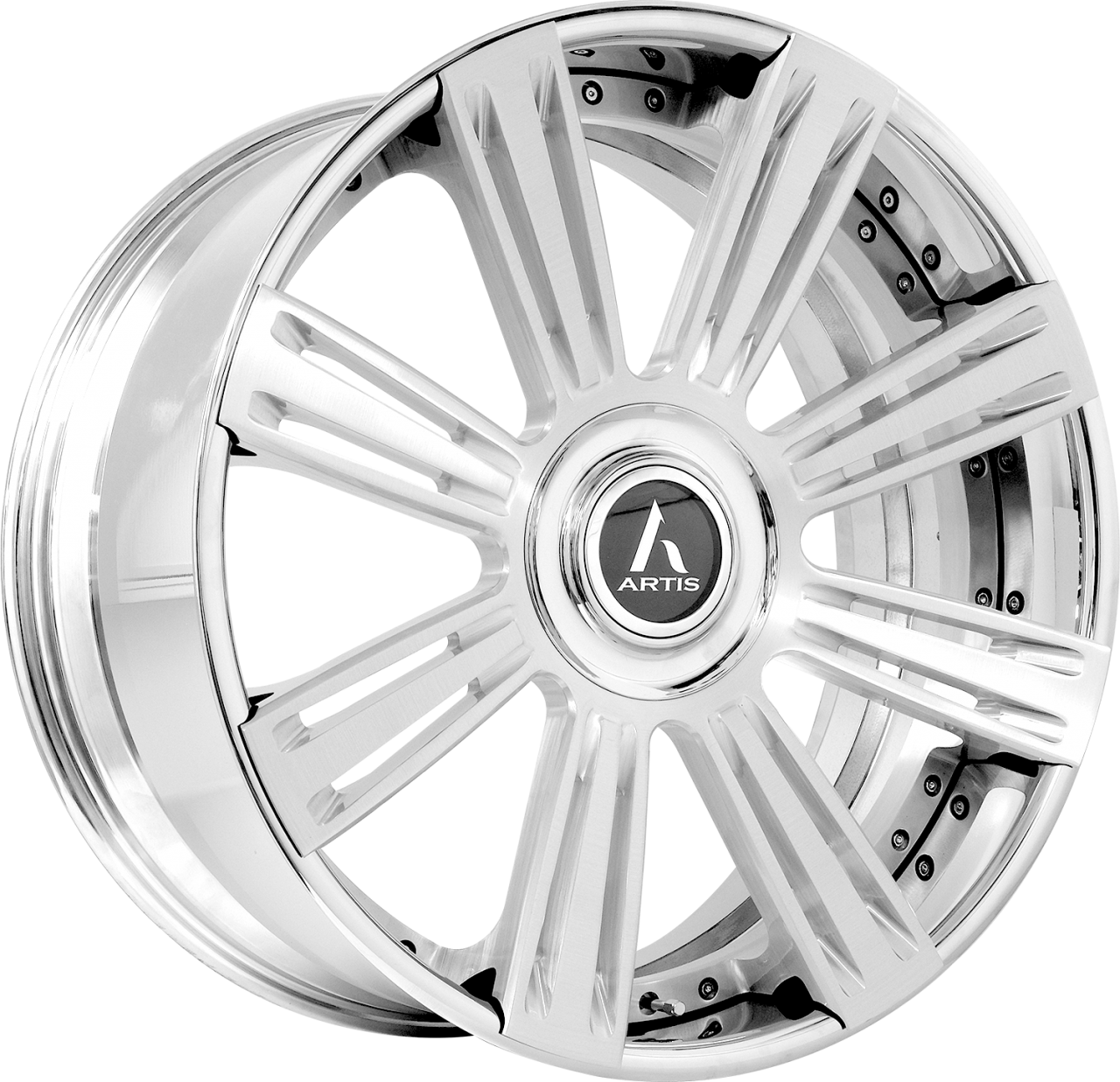 Artis Forged Grino wheel with Brushed with ZLT Forging finish