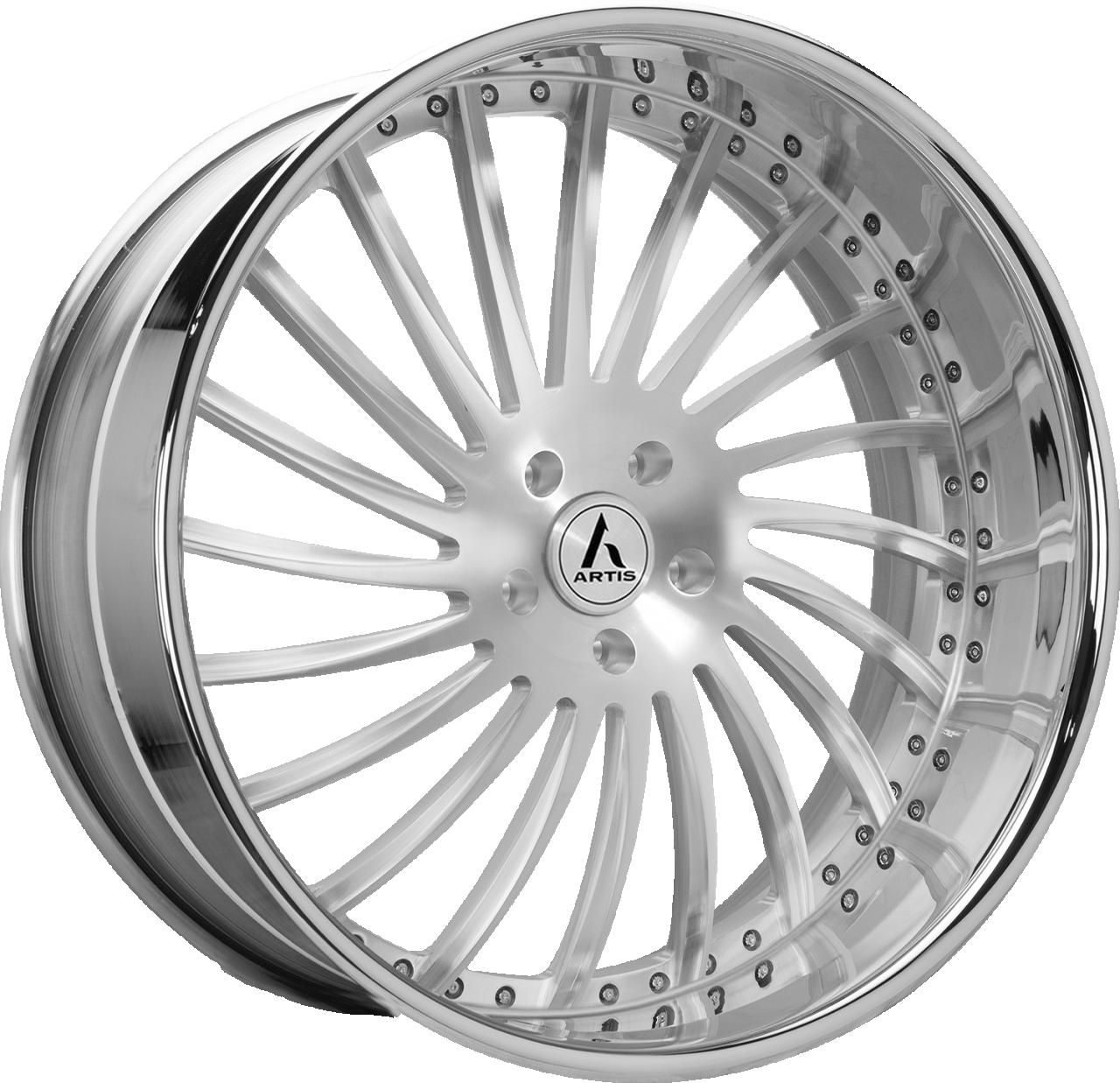 Artis Forged International-M wheel with Brushed finish