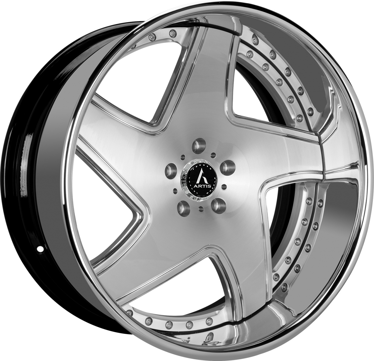 Artis Forged Dawn wheel with Brushed finish