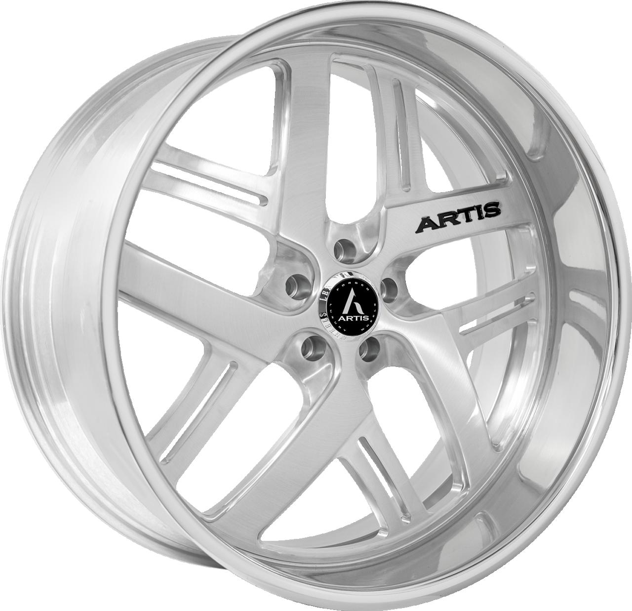 Artis Forged Bomber-M wheel with Brushed finish