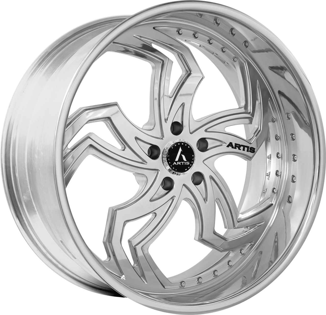 Artis Forged Fulton-M wheel with Brushed finish