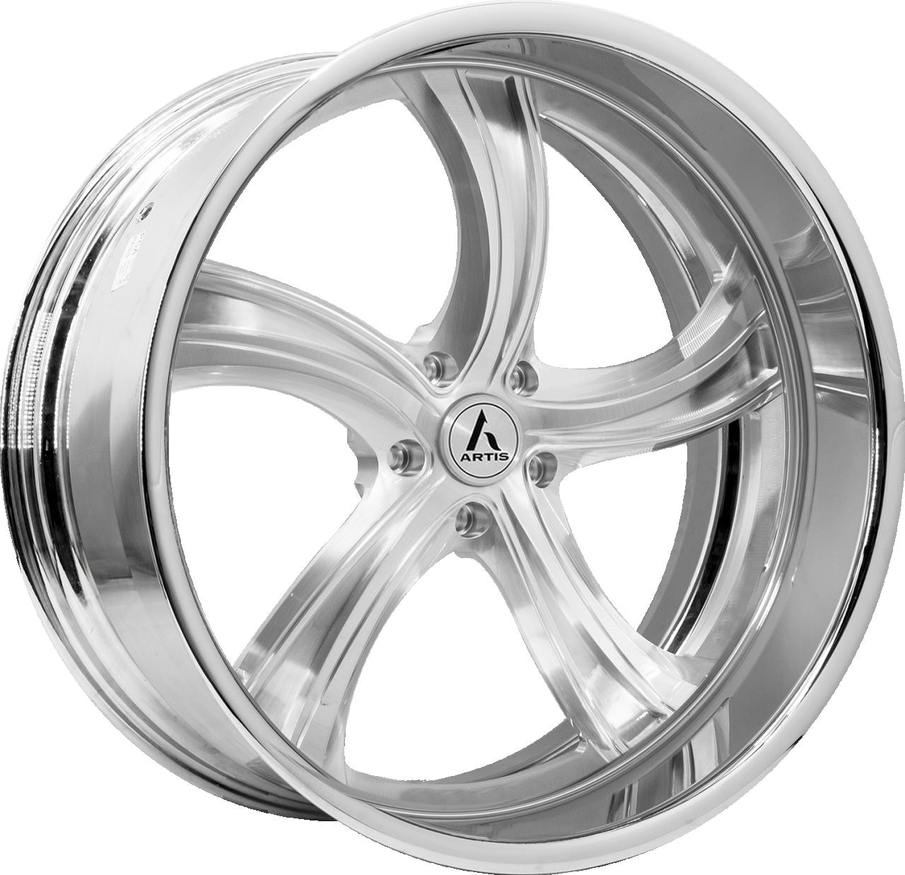 Artis Forged Kokomo-M wheel with Brushed finish