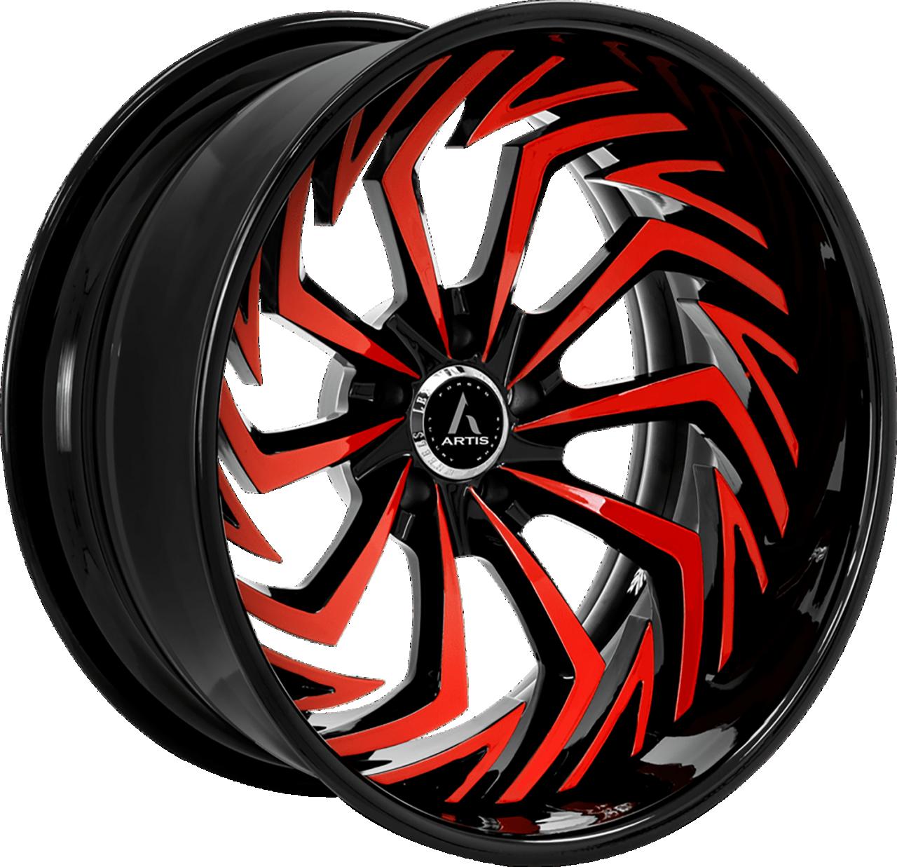 Artis Forged Royal wheel with Custom finish
