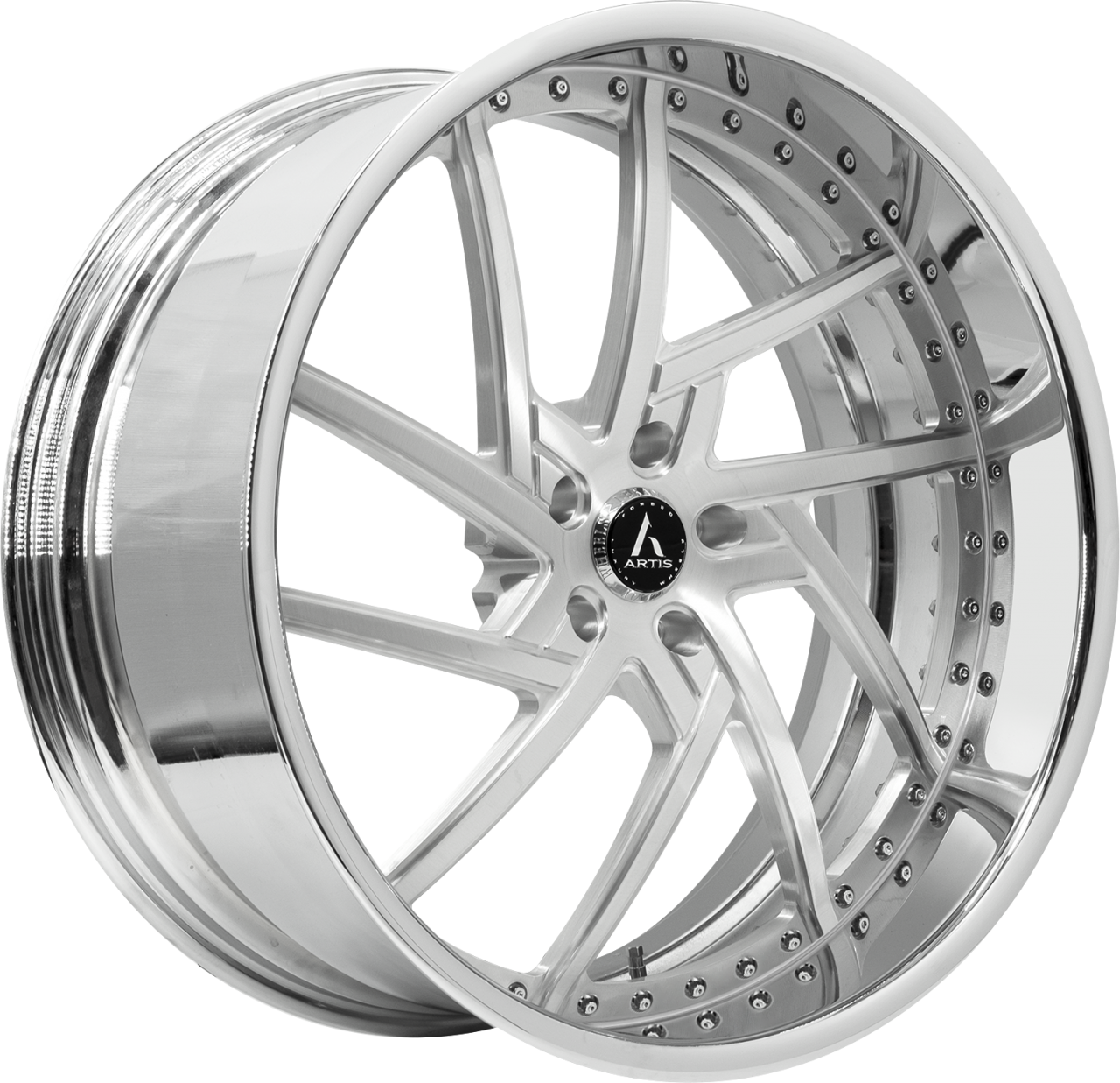 Artis Forged Fairfax-M wheel with Brushed finish
