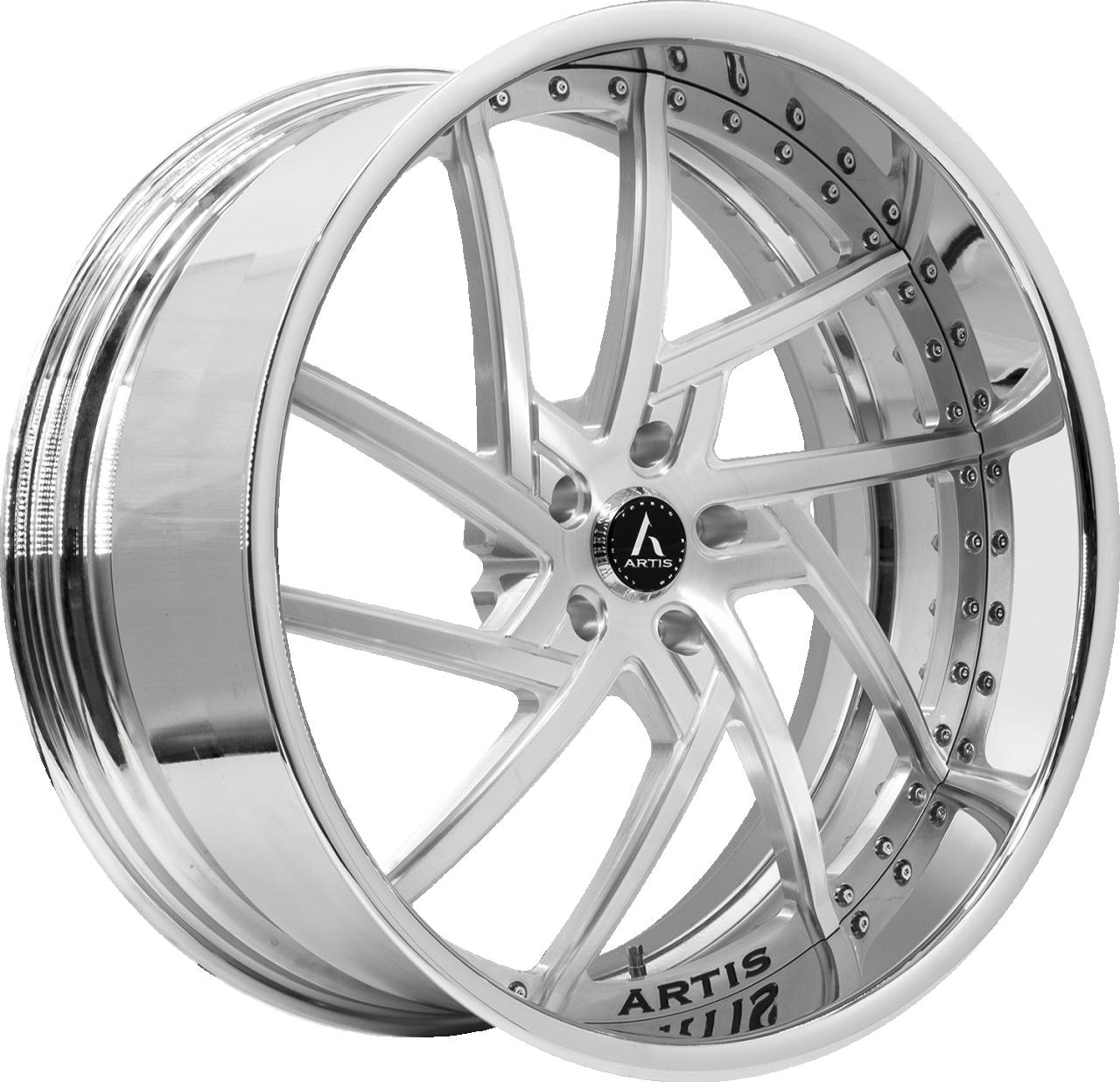 Artis Forged Fairfax wheel with Brushed finish