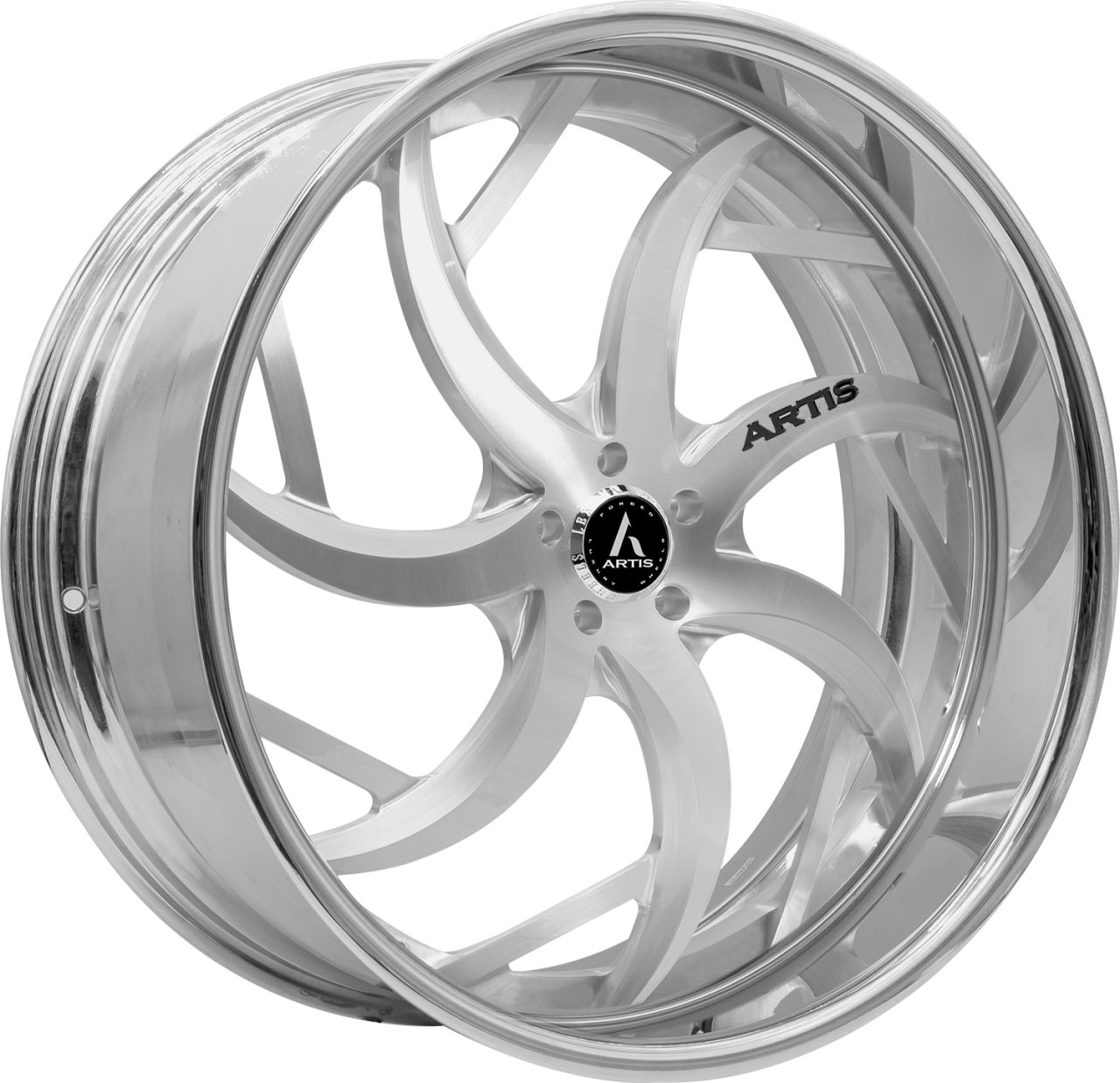 Artis Forged Sin City-M wheel with Brushed finish