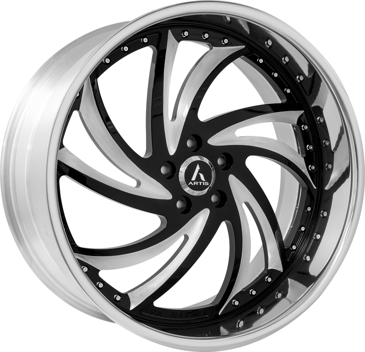 Artis Forged Twister-M wheel with 2 Tone Finish finish