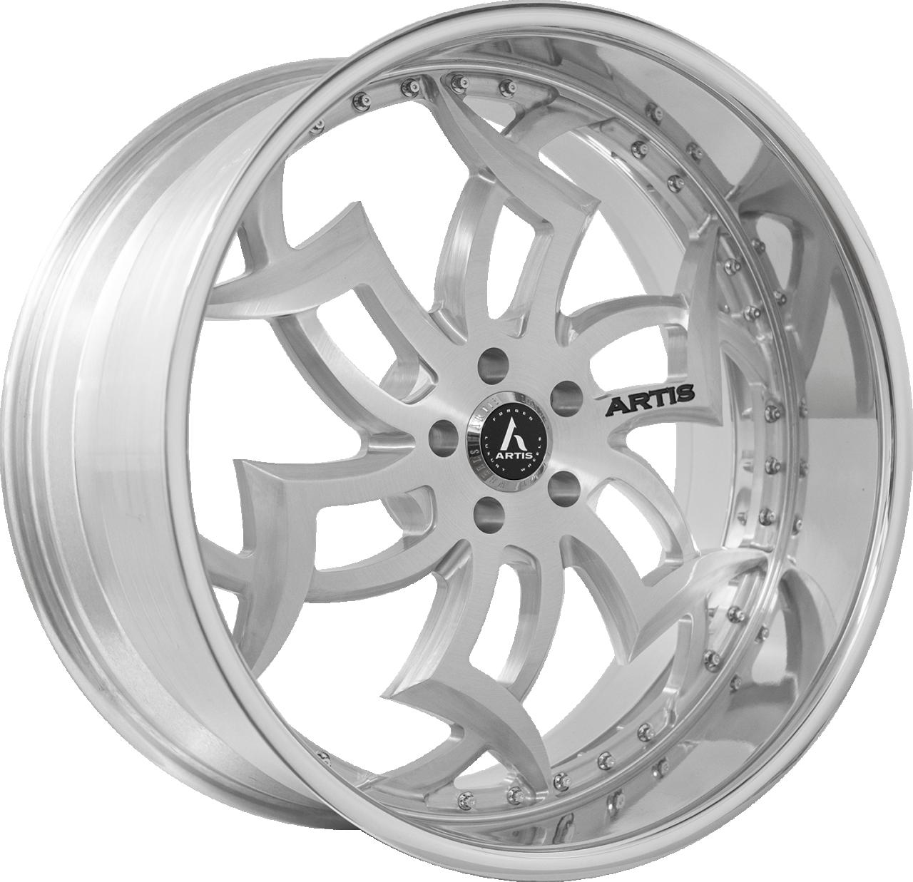 Artis Forged Medusa-M wheel with Brushed finish